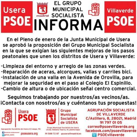 GMS pasos Villaverde