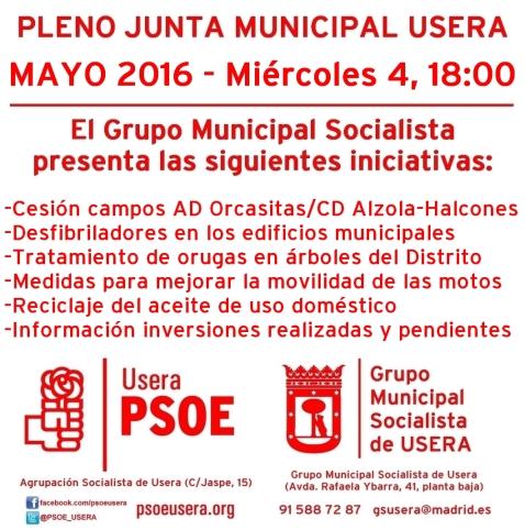 Iniciativas Mayo 2016