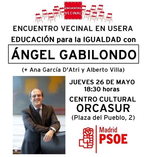 Acto Gabilondo 26-mayo